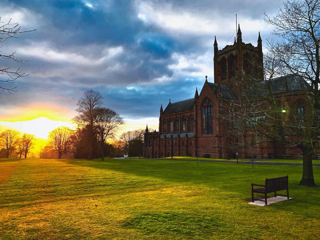 Crichton Church Sunset